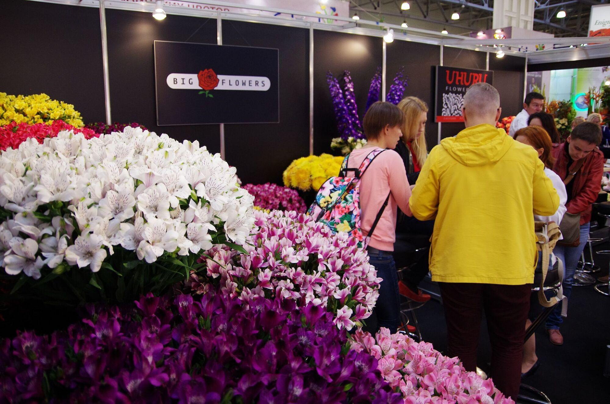Фото с выставки цветов екатеринбург 2018