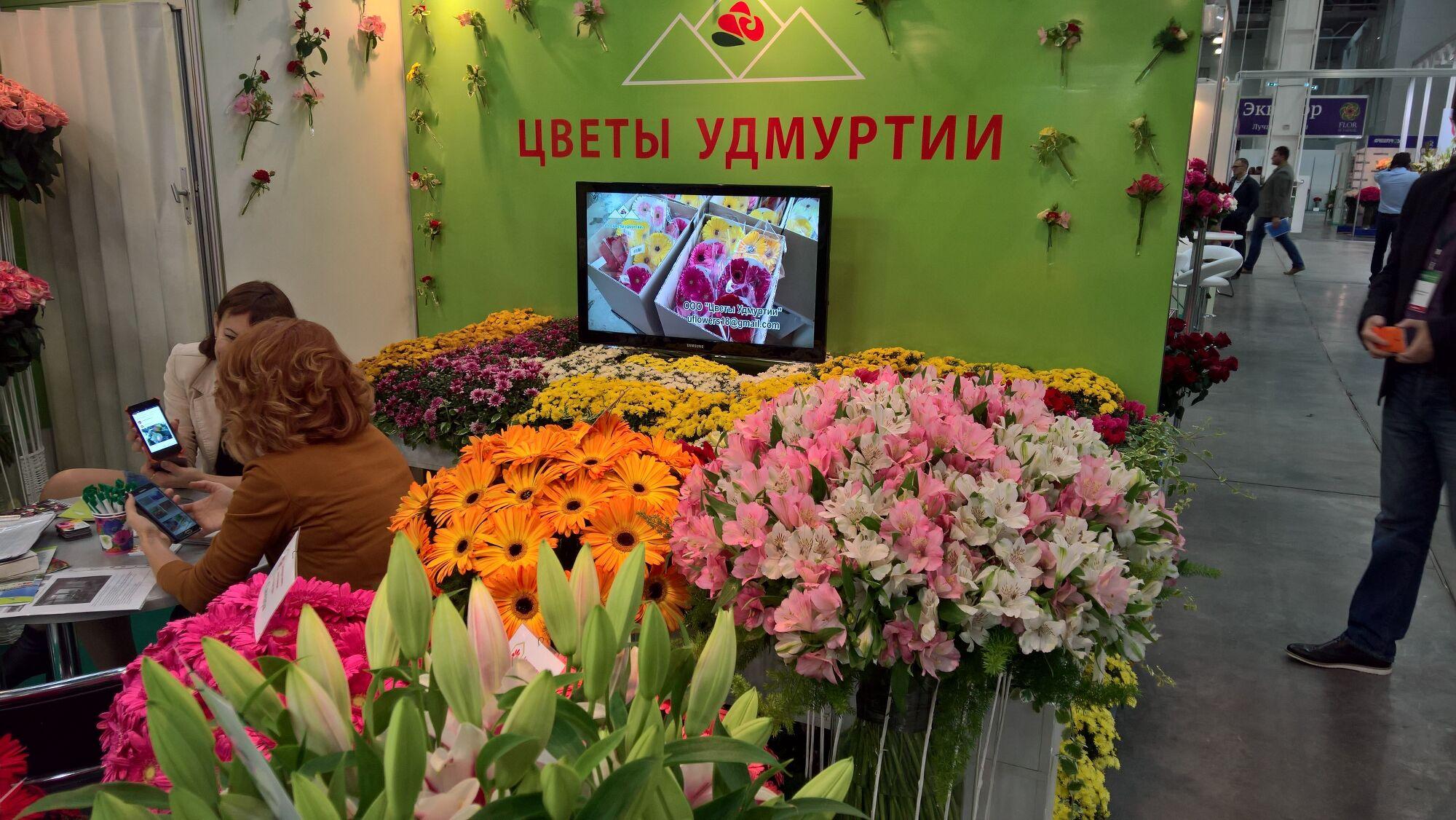 Выставка цветы в крокус экспо фото
